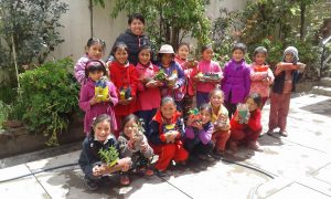 Ondernemersprojecten Aflatoun Peru