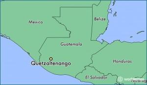 Guatemala - Quetzaltenango foto projectblad