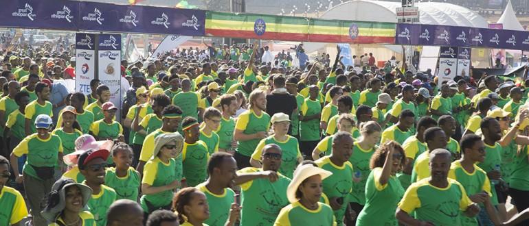 Sponsorreis Great Ethiopian Run