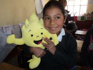 Leerling Peru met Aflatoun (Vuurflits, dé ontdekker)