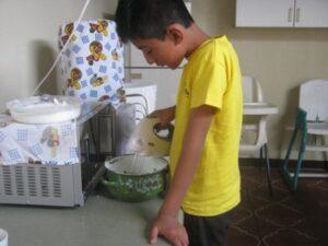 Taarten maken voor de verkoop Guatemala