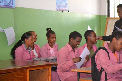 blinde kinderen ethiopie