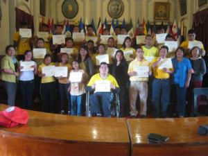 uitreiking diploma kinderen Aflatoun StartUp4Kids