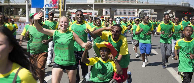 Sponsorreis Great Ethiopian Run