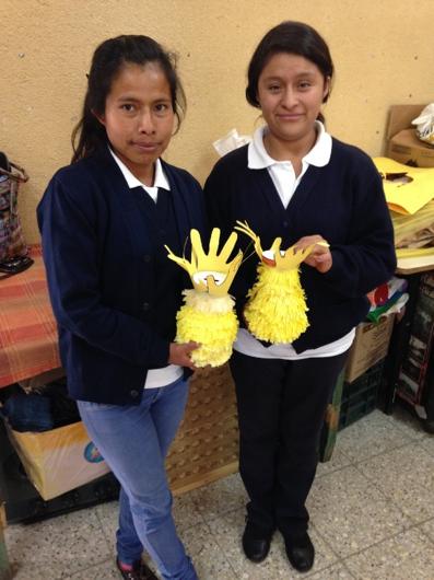 Aflatoun onderwijs in Guatemala