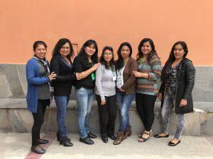 Aflatoun team Peru